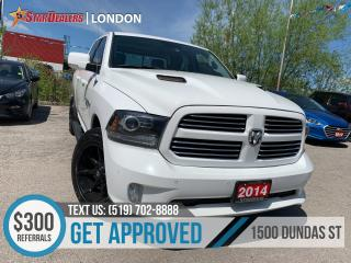 Used 2014 RAM 1500 Sport | 4X4 | HEMI | NAV | LEATHER | ROOF for sale in London, ON