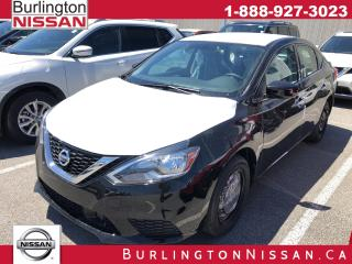 New 2019 Nissan Sentra 1.8 S for sale in Burlington, ON