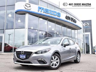 Used 2016 Mazda MAZDA3 GX|1 OWNER|1.9% FINANCE AVAILABLE|NO ACCIDENTS for sale in Mississauga, ON