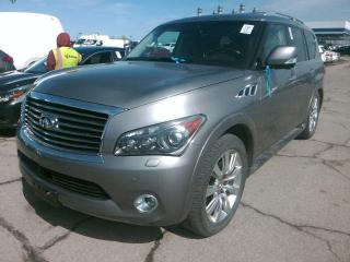 Used 2012 Infiniti QX56 Base 8 Passenger (A7) for sale in Etobicoke, ON