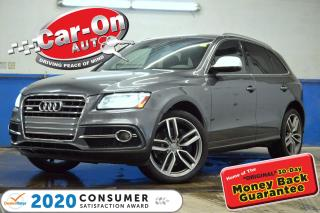 Used 2016 Audi SQ5 354HP SUPERCHARGED NAV PANO ROOF REAR CAM LOADED for sale in Ottawa, ON