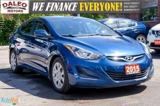 Used 2015 Hyundai Elantra GL | HEATED SEATS | BLUETOOTH for sale in Hamilton, ON