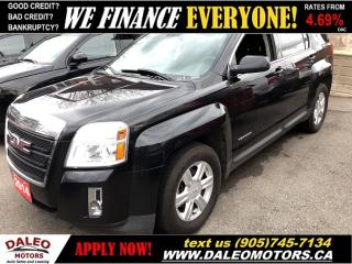 Used 2014 GMC Terrain | ONE OWNER | BLUETOOTH | BACKUP CAMERA for sale in Hamilton, ON