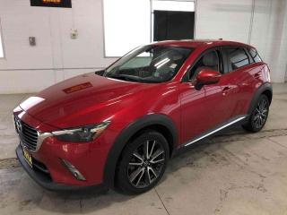 Used 2016 Mazda CX-3 GT|NAVIGATION|SUNROOF|AWD|141,738 KMS for sale in Cambridge, ON