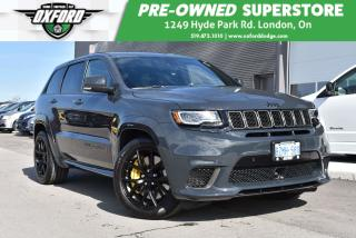 Used 2018 Jeep Grand Cherokee Trackhawk - 707HP Hellcat Motor, AWD for sale in London, ON