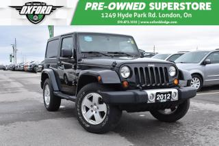 Used 2012 Jeep Wrangler Sahara - One Owner, Manual, 4X4 for sale in London, ON