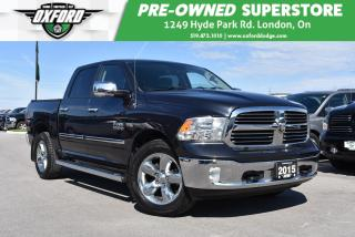 Used 2015 RAM 1500 SLT - 4X4, UConnect/Bluetooth, Tonneau Cover for sale in London, ON