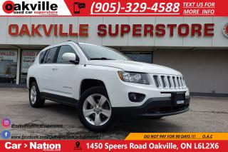 Used 2016 Jeep Compass NORTH EDITION 4X4 | B/U CAM | SCREEN | RMT START for sale in Oakville, ON