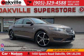 Used 2015 Ford Taurus SEL AWD   LEATHER   SUNROOF   NAV   RMT START for sale in Oakville, ON