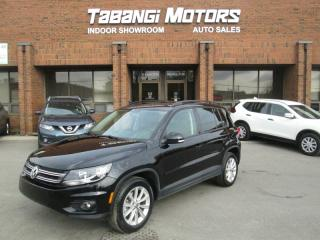 Used 2015 Volkswagen Tiguan NO ACCIDENTS | NAVIGATION | LEATHER | SUNROOF | REAR CAM | for sale in Mississauga, ON