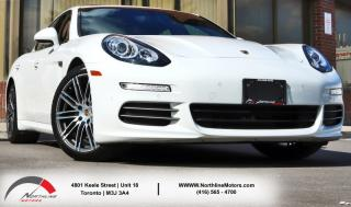 Used 2016 Porsche Panamera 4 Edition|PDK|AWD|Navigation|Sunroof|Red Interior for sale in Toronto, ON