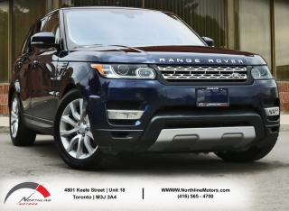 Used 2016 Land Rover Range Rover Sport Td6 | HSE| Navigation|Pano Sunoof|Backup Camera for sale in Toronto, ON
