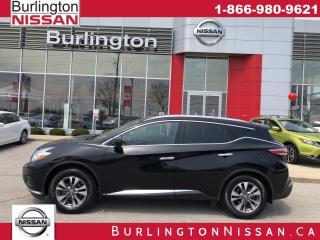 Used 2016 Nissan Murano SL for sale in Burlington, ON