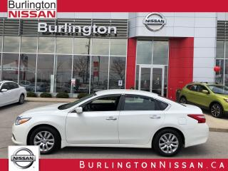 Used 2016 Nissan Altima 2.5 S, ACCIDENT FREE, FINANCE FROM .99% ! for sale in Burlington, ON