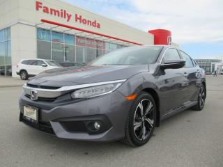 Used 2016 Honda Civic Touring, HONDA CERTIFIED! for sale in Brampton, ON