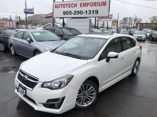 Used 2015 Subaru Impreza 2.0i Limited AWD PZEV Leather/Navigation/Sunroof/Eyesight for sale in Mississauga, ON