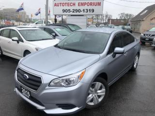 Used 2016 Subaru Legacy 2.5i Convenience Backup Camera/Heated Seats/Bluetooth&GPS* for sale in Mississauga, ON