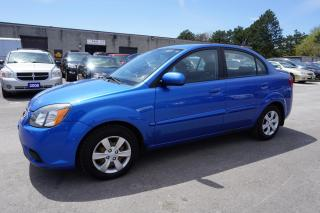Used 2010 Kia Rio 5Spd SEDAN CERTIFIED 2YR WARRANTY BLUETOOTH CRUISE CONTROL for sale in Milton, ON