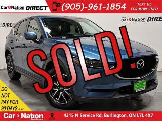 Used 2018 Mazda CX-5 GT| AWD| NAVI| SUNROOF| LEATHER| for sale in Burlington, ON
