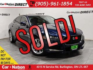 Used 2017 Jaguar XF 20d Premium| AWD| NAVI| SUNROOF| for sale in Burlington, ON