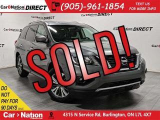 Used 2017 Nissan Pathfinder SL  4X4  BACK UP CAMERA & SENSORS  for sale in Burlington, ON