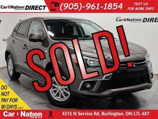 Used 2018 Mitsubishi RVR SE  4X4  BACK UP CAMERA  HEATED SEATS  for sale in Burlington, ON