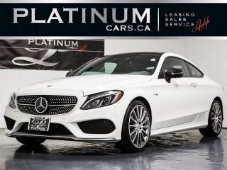 Used 2017 Mercedes-Benz C43 AMG COUPE, NAVI, Driver ASSIST, 360 CAM, RED for sale in Toronto, ON