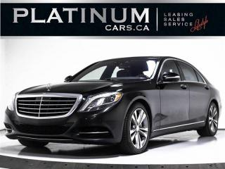 Used 2016 Mercedes-Benz S-Class S550 4MATIC, AWD, NAV, CAM, PANO, HEATED, BURMESTE for sale in Toronto, ON