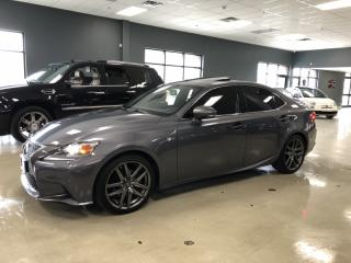 Used 2015 Lexus IS 250 F-SPORT PACKAGE*NAVIGATION*BACK-UP CAMERA*FULLY SE for sale in North York, ON