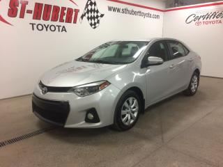 Used 2015 Toyota Corolla S, Bancs Ch., Caméra for sale in St-Hubert, QC