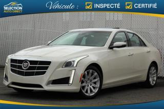 Used 2014 Cadillac CTS 4dr Sdn 3.6l Luxury for sale in Ste-Rose, QC