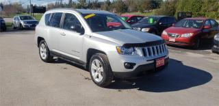 Used 2013 Jeep Compass Sport 4x4 190k we finance Sport for sale in Madoc, ON