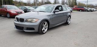 Used 2009 BMW 135i 1 Series twin turbo 125k safetied we finance 135i for sale in Madoc, ON