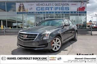 Used 2016 Cadillac ATS Luxury Collection for sale in St-Léonard, QC