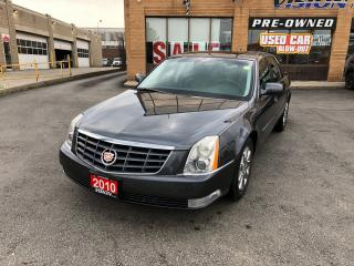Used 2010 Cadillac DTS 1SD/LEATHER/SUNROOF/MASSAGE SEATS for sale in North York, ON