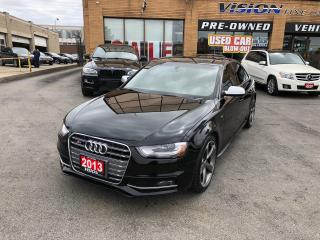 Used 2013 Audi S4 3.0T Premium (S tronic)/NAVIGTION/BOSE/B UP CAM for sale in North York, ON