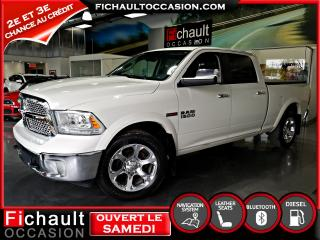 Used 2016 RAM 1500 Cabine multiplaces 4X4 LARAMIE***ECO-DIE for sale in Châteauguay, QC