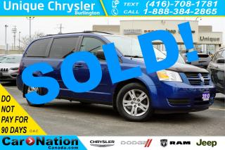 Used 2010 Dodge Grand Caravan SE| DVD| REAR CAM| STOW N'GO| ALLOY WHEELS for sale in Burlington, ON