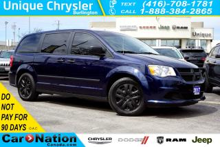 Used 2017 Dodge Grand Caravan CVP| STOW N'GO| SUPER CONSOLE| BLUETOOTH for sale in Burlington, ON