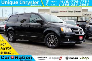 Used 2016 Dodge Grand Caravan SXT PREMIUM PLUS| DVD| NAV| REAR CAM & MORE for sale in Burlington, ON