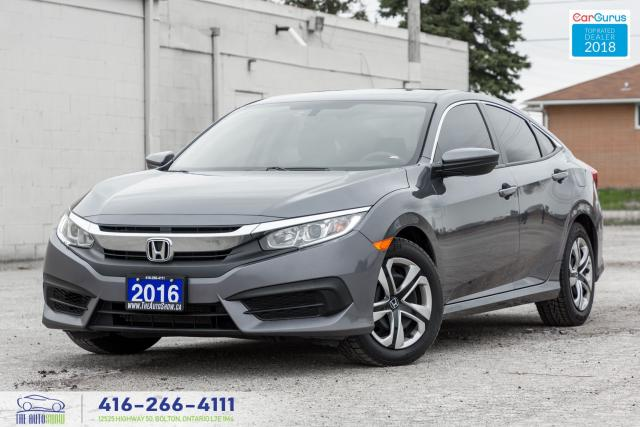 2016 Honda Civic 1 Owner No Accidents Certified Tinted Spotless