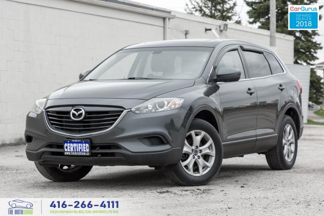 2015 Mazda CX-9 AWD Leather/Sunroof CleanCarfax Serviced Certified