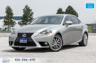 Used 2014 Lexus IS 250 AWD No Accidents Certified Serviced Tires & Brakes for sale in Bolton, ON