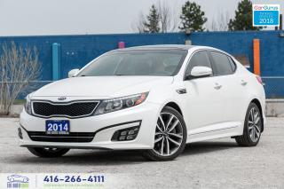 Used 2014 Kia Optima SX TURBO 1 NAVIGPS 1 OWNER KIA SERVICED CERTIFIED for sale in Bolton, ON