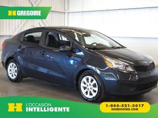 Used 2014 Kia Rio LX+ A/C-GR. ÉLEC for sale in St-Léonard, QC