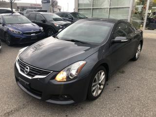 Used 2011 Nissan Altima 3.5 SR NAVI | Sunroof | Red Leather for sale in Waterloo, ON