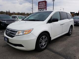 Used 2012 Honda Odyssey EX-L 8 PASSENGER !!  SUNROOF !! LEATHER !! for sale in Cambridge, ON