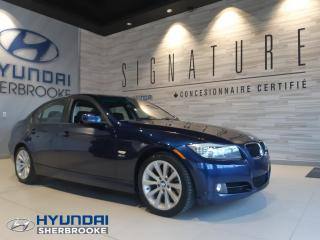 Used 2011 BMW 328i 328i xDRIVE+GPS+CUIR+TOIT+MANUELLE+MAGS for sale in Sherbrooke, QC