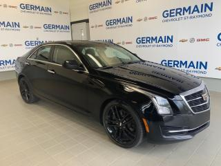 Used 2015 Cadillac ATS Mags Noir -Ac for sale in St-Raymond, QC