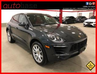Used 2018 Porsche Macan PREMIUM PLUS LANE CHANGE ASSIST 20'S CLEAN CARFAX for sale in Vaughan, ON